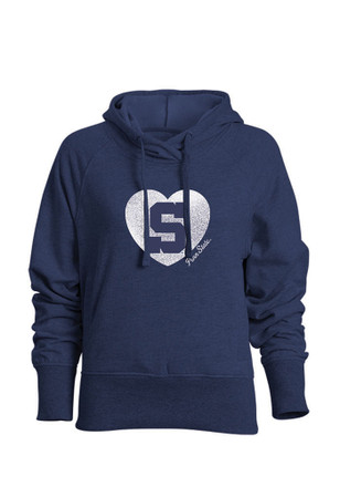 Penn State Nittany Lions Womens Navy Blue Heavenly Hood Hoodie