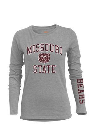 MO State Womens BFF Big Logo Grey T-Shirt