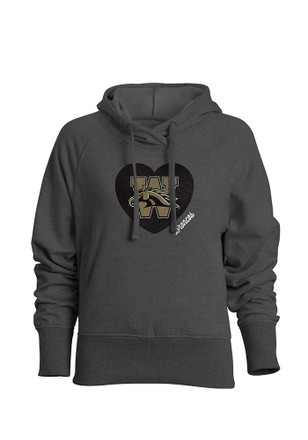 Western Michigan Broncos Womens Grey Heavenly Hoodie