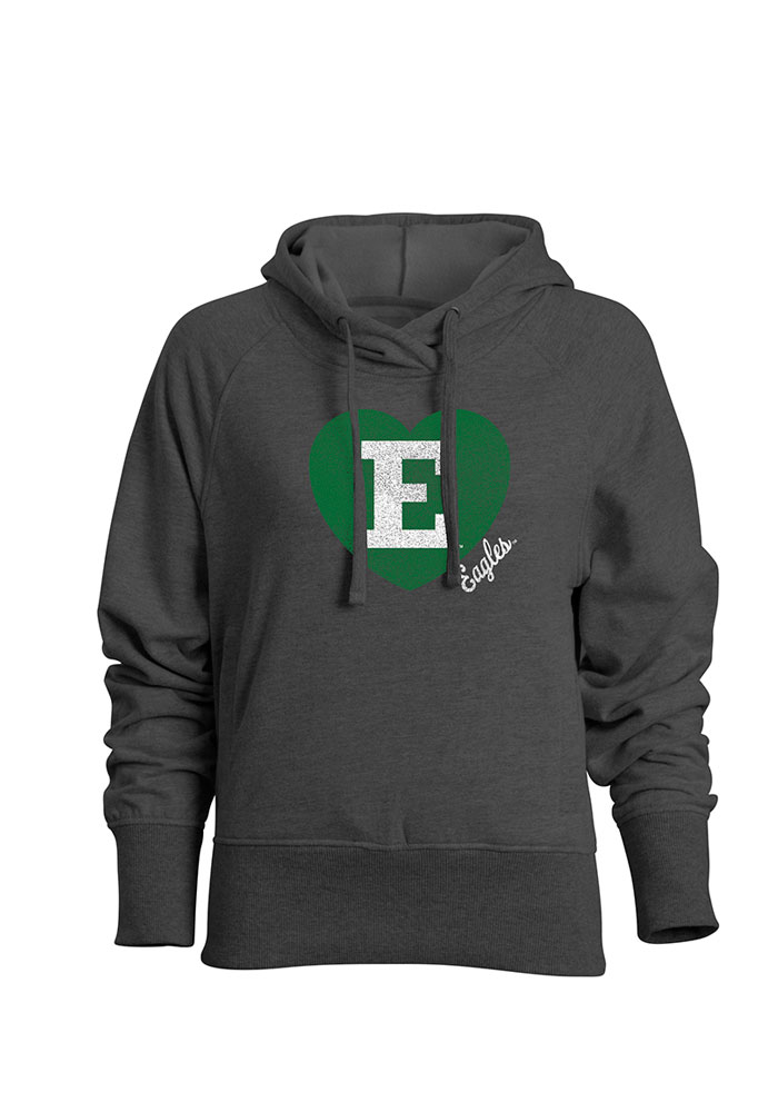 Eastern Michigan Eagles Juniors Grey Heavenly Hooded Sweatshirt 17300192