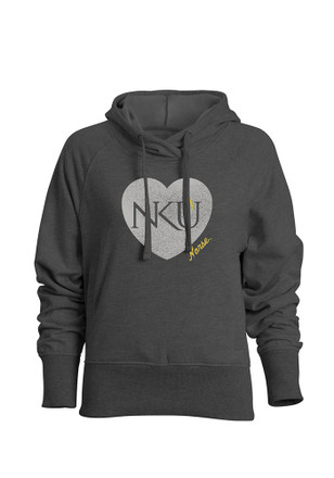 Northern Kentucky Norse Womens Grey Heavenly Hoodie