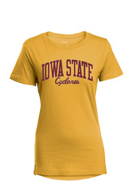 timeless design 5e777 9462c Iowa State Cyclones Womens Gold Bestie T-Shirt