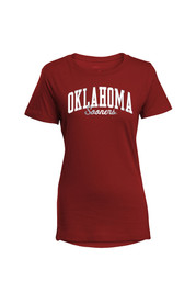 Oklahoma Womens Red Bestie T-Shirt
