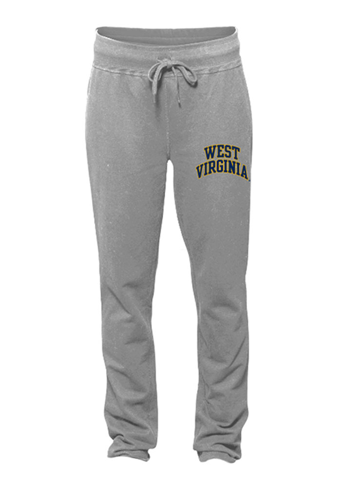 West Virginia Mountaineers Womens Freestyle Grey Sweatpants - Image 1