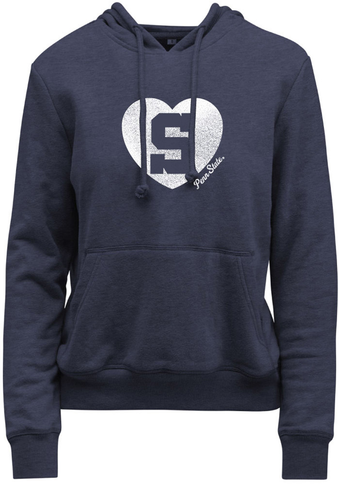 e7901ac16 Penn State Nittany Lions Womens Navy Blue Goodie Hooded Sweatshirt - Image 1
