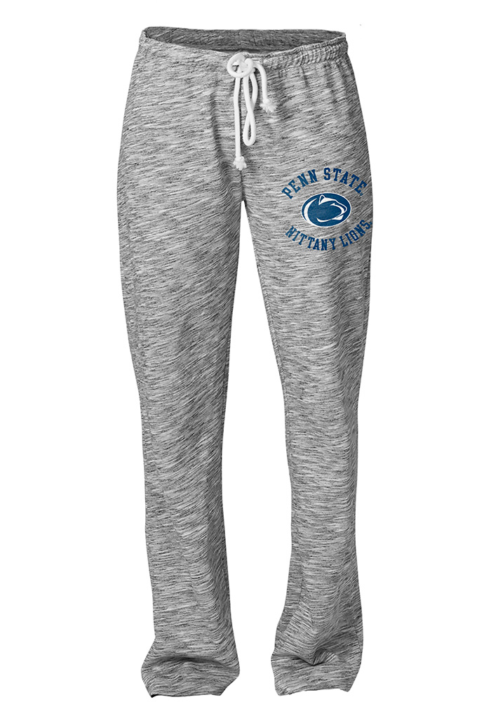 Penn State Nittany Lions Womens Happy Grey Sweatpants - Image 1