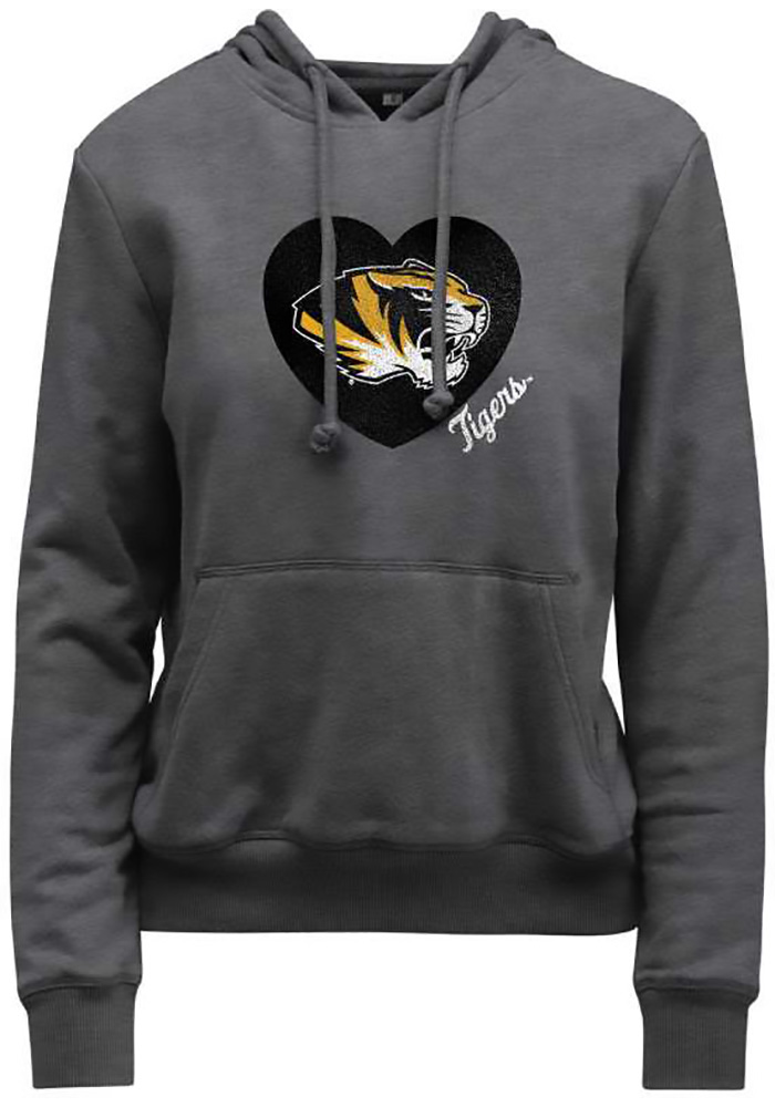 Missouri Tigers Womens Grey Goodie Hoodie