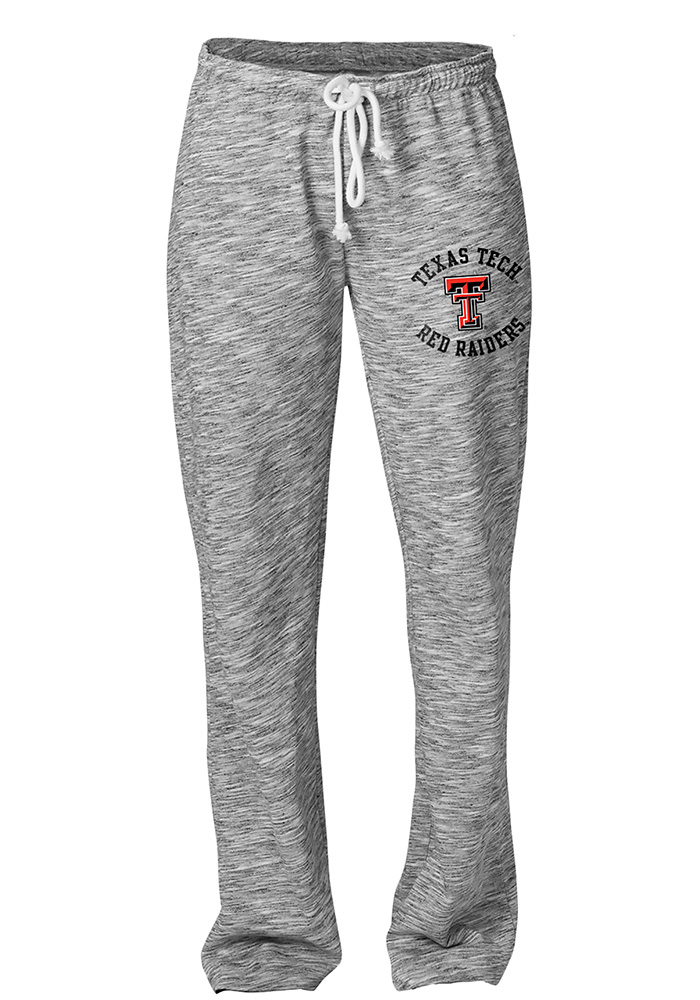 Texas Tech Red Raiders Womens Happy Grey Sweatpants 17300360