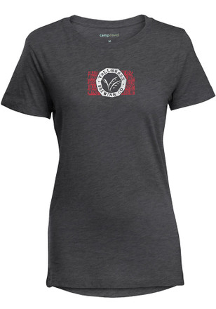 Beers & Breweries Womens Tallgrass Brewing Grey T-Shirt