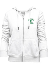 Eastern Michigan Eagles Womens Funday Full Zip Jacket - White