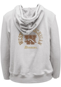 Western Michigan Broncos Womens Funday Full Zip Jacket - Oatmeal