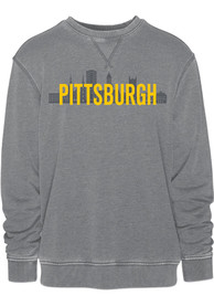 Pittsburgh Skyline Crew Sweatshirt - Grey