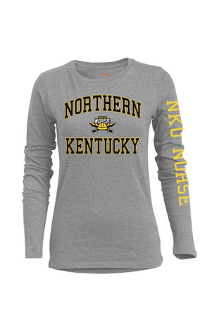 Northern Kentucky Norse Womens BFF Grey T-Shirt