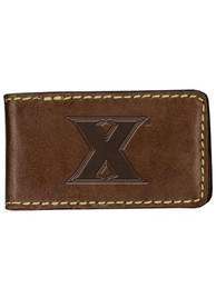 Xavier Musketeers Contrast Stitch Money Clip