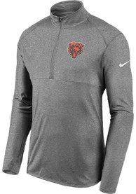 Chicago Bears Nike Element 1/4 Zip Pullover - Grey