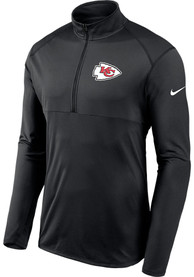 Kansas City Chiefs Nike Element 1/4 Zip Pullover - Black