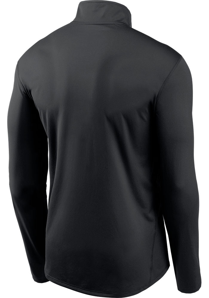 Nike Kansas City Chiefs Mens Black Element Long Sleeve 1/4 Zip Pullover - Image 2