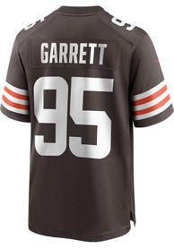 Myles Garrett Cleveland Browns Nike Home Game Football Jersey - Brown