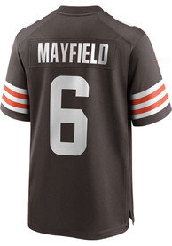 Baker Mayfield Cleveland Browns Nike Home Game Football Jersey - Brown