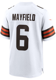 Baker Mayfield Cleveland Browns Nike Road Game Football Jersey - White