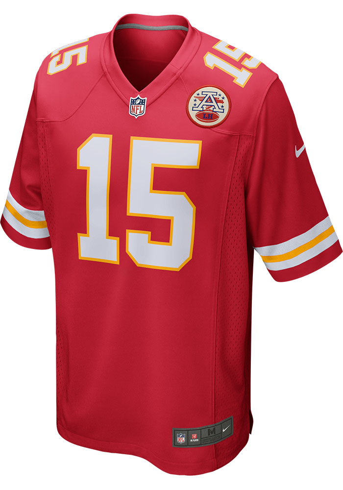 Patrick Mahomes Nike Kansas City Chiefs Red Home Game Football Jersey - Image 2