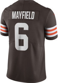 Baker Mayfield Cleveland Browns Nike Home Limited Football Jersey - Brown