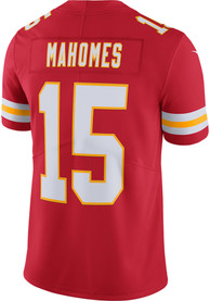 Patrick Mahomes Kansas City Chiefs Nike Home Limited Football Jersey - Red