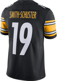 JuJu Smith-Schuster Pittsburgh Steelers Nike Home Limited Football Jersey - Black