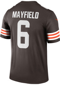 Baker Mayfield Cleveland Browns Nike Home Legend Football Jersey - Brown