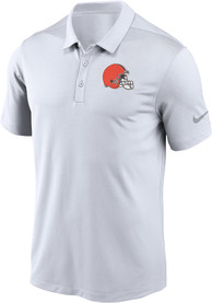 Cleveland Browns Nike Franchise Polo Shirt - White