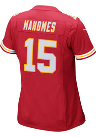 Patrick Mahomes Kansas City Chiefs Womens Nike Home Game Football Jersey - Red