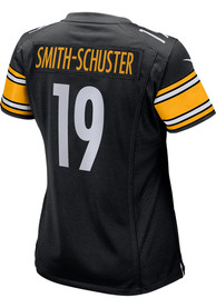JuJu Smith-Schuster Pittsburgh Steelers Womens Nike Home Game Football Jersey - Black