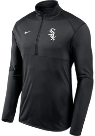 Chicago White Sox Nike Element 1/4 Zip Pullover - Black