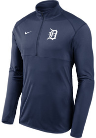 Detroit Tigers Nike Element 1/4 Zip Pullover - Navy Blue
