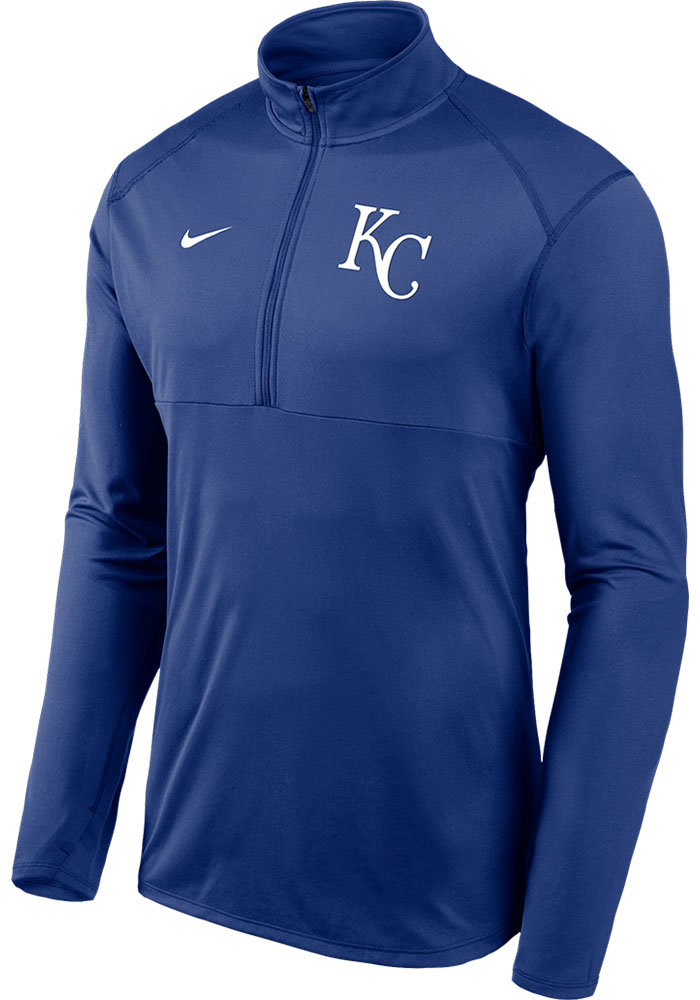 Kansas City Royals Blue Element 1/4 Zip Pullover