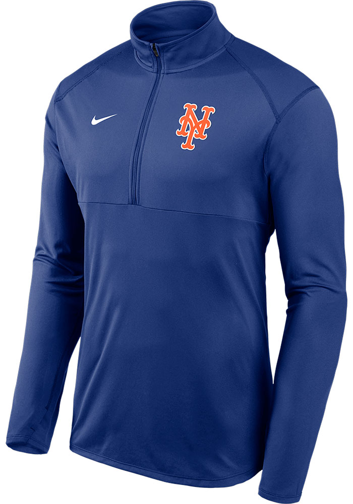 New York Mets Nike Element 1/4 Zip Pullover - Blue
