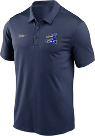 Chicago White Sox Nike Cooperstown Polo Shirt - Navy Blue