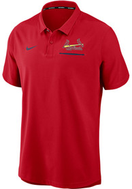 St Louis Cardinals Nike Authentic Polo Shirt - Red