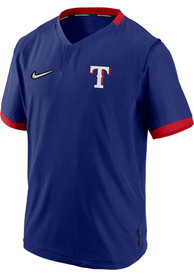 Texas Rangers Nike Hot Jacket Short Sleeve Jacket - Blue