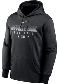 Chicago White Sox Nike Authentic Therma Hood - Black