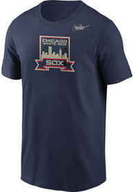 Chicago White Sox Nike Cooperstown Fashion T Shirt - Navy Blue