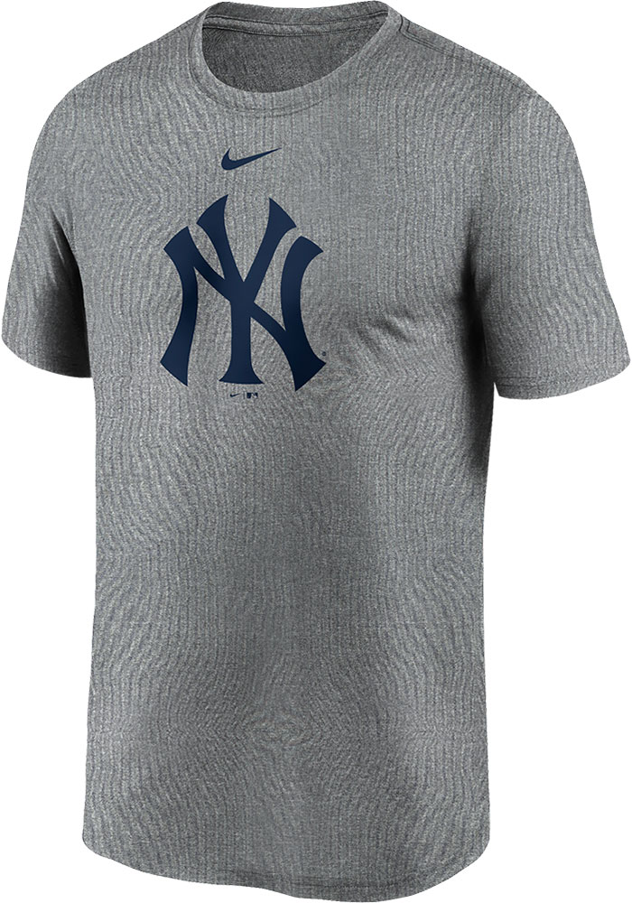 New York Yankees Nike Logo Legend T Shirt - Grey