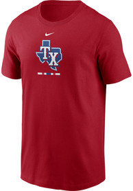 Texas Rangers Nike Legacy T Shirt - Red