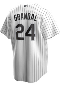 Yasmani Grandal Chicago White Sox Nike 2020 Home Replica - White