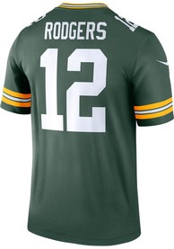 Aaron Rodgers Green Bay Packers Nike Home Legend Football Jersey - Green