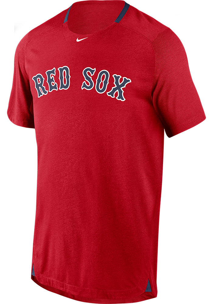 Boston Red Sox Nike Breathe T Shirt - Red