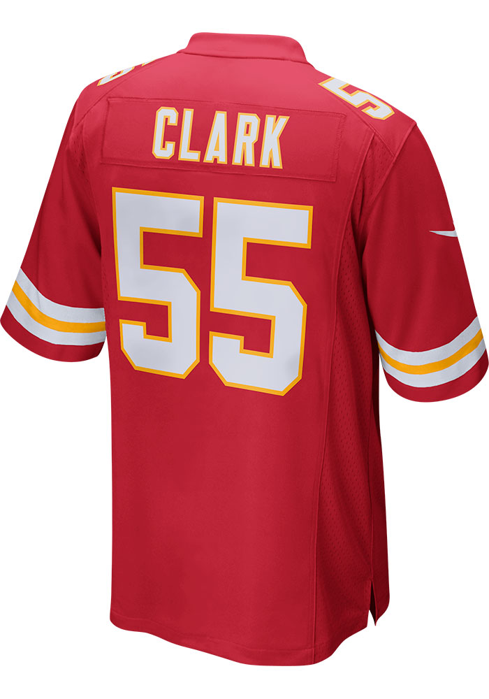 Frank Clark Nike Kansas City Chiefs Red Home Game Football Jersey - Image 1