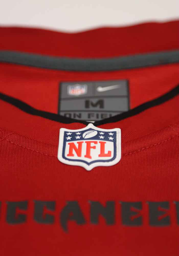 Tom Brady Nike Tampa Bay Buccaneers Red Home Game Football Jersey - Image 3