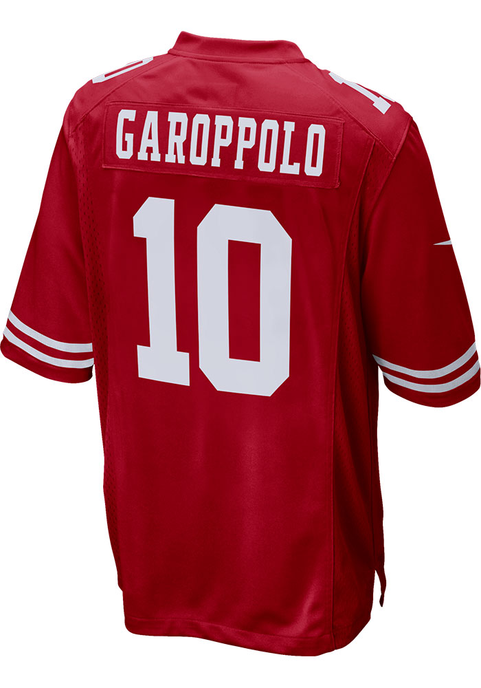 Jimmy Garoppolo San Francisco 49ers Nike Home Game Football Jersey - Red