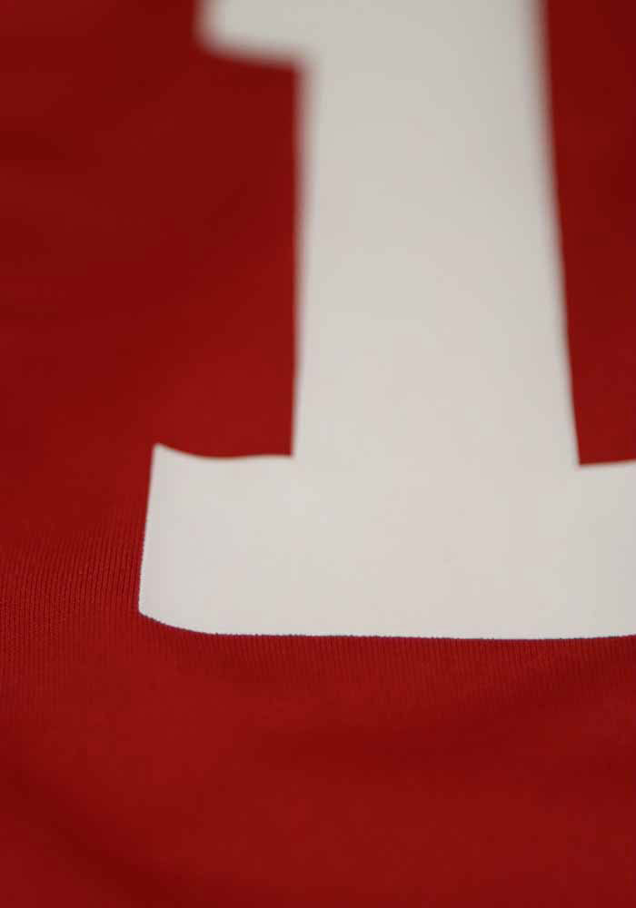 Jimmy Garoppolo Nike San Francisco 49ers Red Home Game Football Jersey - Image 5